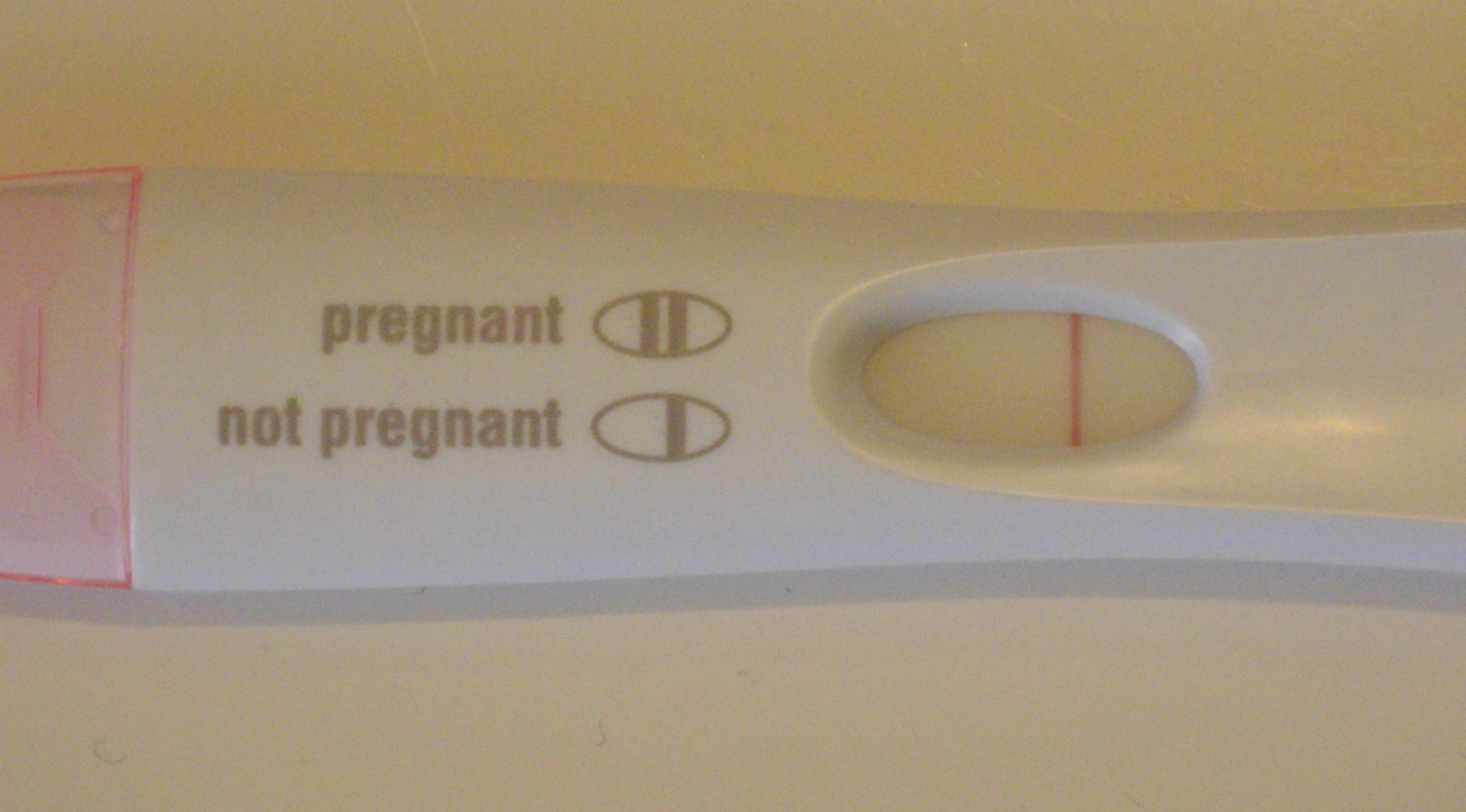 Тест на беременность i пройти
